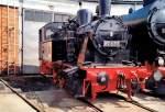 bw-arnstadt/71425/br-89-im-bw-arnstadt-am BR 89 im Bw Arnstadt am Lokschuppen