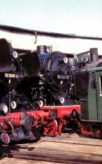 bw-arnstadt/72853/blick-zum-lokschuppen-des-bw-arnstadt Blick zum Lokschuppen des Bw Arnstadt, um 2003
