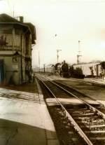 dampf/77508/sonderzug-in-eisenach-vor-1989 Sonderzug in Eisenach, vor 1989