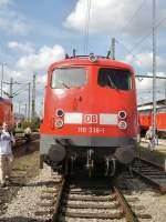 bahnwerk-erfurt/69588/br-110-im-bahnwerk-erfurt BR 110 im Bahnwerk Erfurt