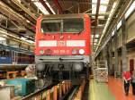 bahnwerk-erfurt/70445/143-im-bahnwerk-erfurt---zugaenglich 143 im Bahnwerk Erfurt - zugänglich anläßlich 80 Jahre Bahnwerk Erfurt