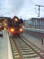 dampf/67846/br-41-mit-sonderzug-nach-weimar-saalfeld BR 41 mit Sonderzug nach Weimar-Saalfeld, 2010