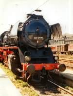 dampf/69156/br-50-in-erfurt-hbf-vor BR 50 in Erfurt Hbf, vor 1990