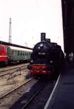 dampf/70674/erfurt-hbf-vor-dem-umbau-mit Erfurt Hbf vor dem Umbau mit BR 74, vor 1990