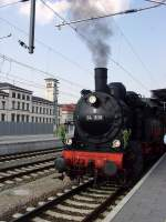 dampf/73108/neuer-bahnhof-und-alte-lok-erfurt Neuer Bahnhof und alte Lok, Erfurt Hbf 2010