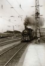 dampf/80371/einfahrt-in-erfurt-hbf-um-1985 Einfahrt in Erfurt Hbf, um 1985