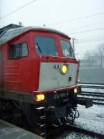 neuer-hbf/120314/br-232-am-1222011-in-erfurt BR 232 am 12.2.2011 in Erfurt Hbf