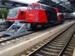 neuer-hbf/85611/hauptbahnhof-erfurt-br-228-v-180 Hauptbahnhof Erfurt, BR 228 (V 180) und Sonderzug in Erfurt Hbf