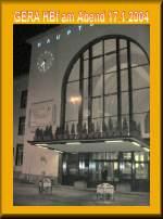 hbf-modernisiert/84869/eingang-hauptbahnhof-gera-2004 Eingang Hauptbahnhof Gera, 2004