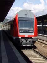 aktueller-betrieb/91018/doppelstockzug-in-saalfeld-saale-28-8-2010 Doppelstockzug in Saalfeld Saale   28-8-2010