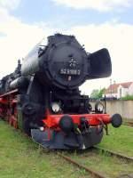 bw-weimar/73642/lok-der-br-52-im-bw Lok der Br 52 im Bw Weimar im Mai 2010
