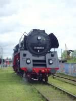 bw-weimar/73833/vorfuehrfahrten-mit-der-br-01-im Vorführfahrten mit der BR 01 im Bw Weimar