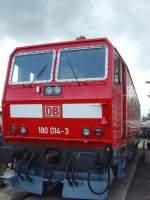 bw-weimar/74002/mehrsystemlok-br-180-der-deutschen-bahn Mehrsystemlok BR 180 der Deutschen Bahn im Bw Weimar - Mai 2010