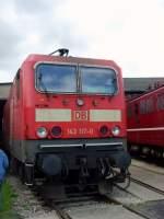 bw-weimar/74003/br-143-der-deutschen-bahn-im BR 143 der Deutschen bahn im Bw Weimar, Mai 2010