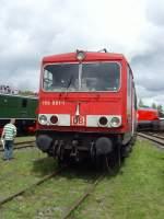 bw-weimar/74100/br-155-der-db-im-bw BR 155 der DB im Bw Weimar, Mai 2010