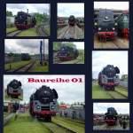 bw-weimar/74598/baureihe-01-im-bw-weimar-im Baureihe 01 im Bw Weimar im mai 2010