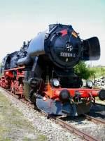 bw-weimar/75492/br-52-im-bw-weimar-im BR 52 im Bw Weimar im Mai 2005