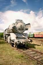 bw-weimar/78697/br-50-im-grauen-anstrich-um BR 50 im grauen Anstrich, um 2005