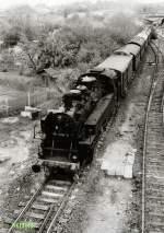 strecke/70740/dampfsonderzug-auf-der-ilmtalbahn-in-weimar Dampfsonderzug auf der Ilmtalbahn in Weimar, vor 1989