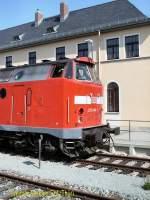 weimar-berkaer-bhf/75413/br-219-im-jahr-2005-in BR 219 im Jahr 2005 in Weimar Berkaer Bahnhof