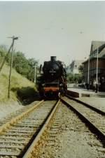 bhf-erfurt-west/77501/38-1182-in-erfurt-west-vor-1989 38 1182 in Erfurt-West, vor 1989