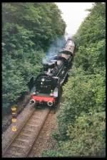 strecke/80606/kurz-vor-erfurt-west-1991 Kurz vor Erfurt-West, 1991