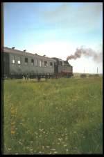strecke/80608/dampfzug-bei-schmira-1991-dia Dampfzug bei Schmira, 1991 (Dia)