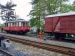 am-bhf-lichtenhain-adb/70240/gueterwagen-und-elektr-triebwagen-am-bhf Güterwagen und elektr. Triebwagen am Bhf Lichtenhain a.d.Bergbahn