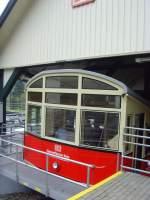 bergbahn/67682/bergbahnwagen-in-der-talstation-2010 Bergbahnwagen in der Talstation, 2010