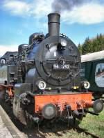 bhf-stutzerbach/71654/94-1292-noch-im-einsatz-auf 94 1292 noch im Einsatz auf der Rennsteigbahn, 2005