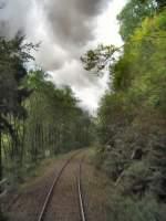 strecke/80322/streckenverlauf-der-rennsteigbahn-zum-rennsteig-2005 Streckenverlauf der Rennsteigbahn zum rennsteig, 2005