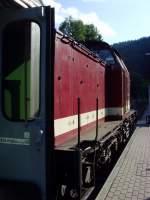 bhf-sitzendorf-unterw/88471/br-202-in-sitzendorf-1482010 BR 202 in Sitzendorf, 14.8.2010