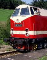 rottenbach/88276/stirnansicht-br-119-in-rottenbach-am Stirnansicht BR 119 (in Rottenbach am 14.8. 2010)