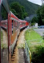 schwarzburg/88020/-d-900-beim-bahnhof-schwarzburg ' D 900' beim Bahnhof Schwarzburg, 14.8.2010